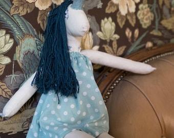 Heirloom Unicorn Doll Nora