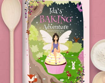 Personalised Baking Adventure Book