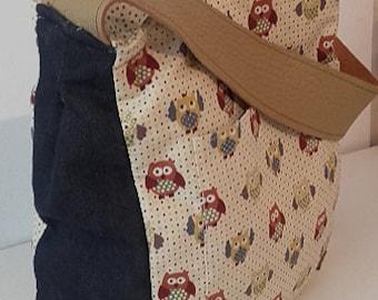 30% OFF bag of owls, hand, Messenger bag