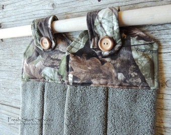 Camo Hanging Towel Camo Kitchen Towel Camo Gifts Kitchen Towel Camo Kitchen