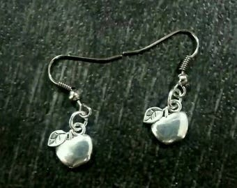 Earrings Tibetan money - Creation of Sparkle Apple