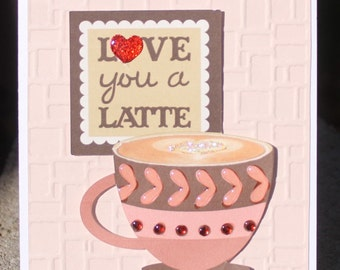 Love you a Latte - FREE SHIPPING - HGVC1101