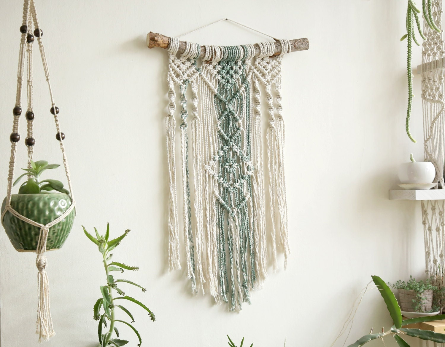 How To Design My Living Room Online Wall Tapestry Macrame Tapestry Macrame Wall Hanging Modern