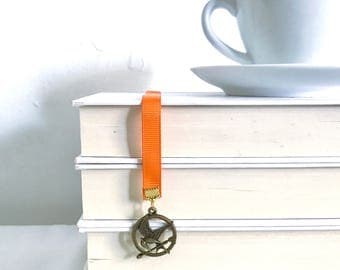 CLEARANCE!! || Hunger Games -  Mockingjay Inspired Ribbon Bookmark