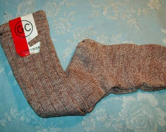 A pair of old socks for kids, rustic