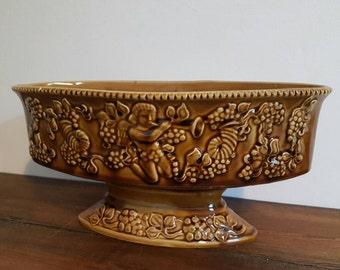 Vintage Beautiful Arthur Wood Green Vase