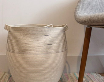 Medium Rope Coil Basket