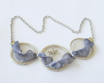 """Necklace """"Flight over the sea"""""""