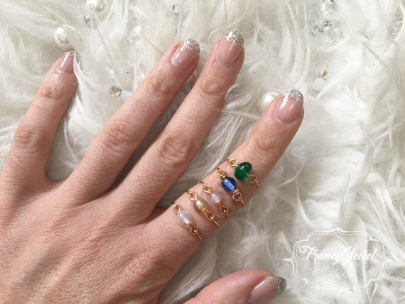 Rings, gold rings, 18 k gold plated jewelry, bohemian glass, color ring, handmade jewelry, made in Italy, birthday gifts, wedding gift