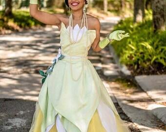Tiana Princess Adult Costume