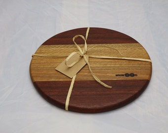 Cheese Board made from Native Australian Hardwood - Free knife and delivery