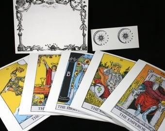 Tarot Greeting Cards