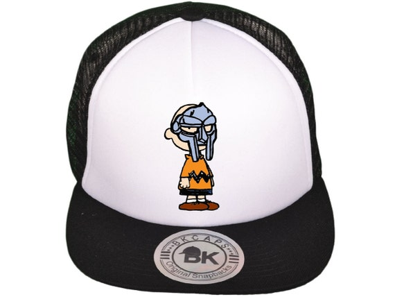 Charlie Doom MF Doom Trucker Mesh Snapback hat cap