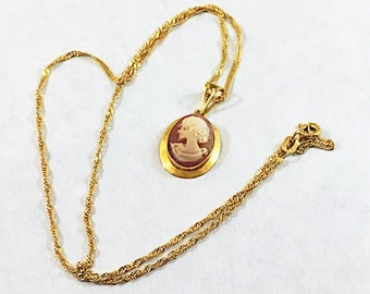 Italian gold necklace mesh necklace estate mbc 750 18k vintage italian cameo necklace 18k gold necklace designer signed 750 gold chain italian mozeypictures Gallery