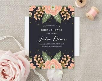 Bridal Shower Invitation - Printed
