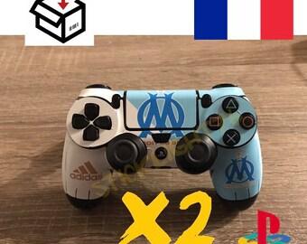 Skin stickers controller Marseille om ps4 controller led light bar controller