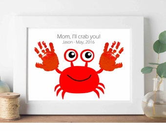 Handprint Art Etsy