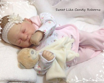 Custom made to order Reborn doll 'Lucy' by Marissa May