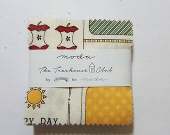 The tree house club mini charm pack by Moda