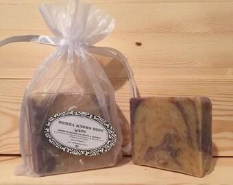 FREE SHIPPING USA - Wami Handmade Soap - Cold Processed Soap - Palmarosa Soap - Lavender Soap
