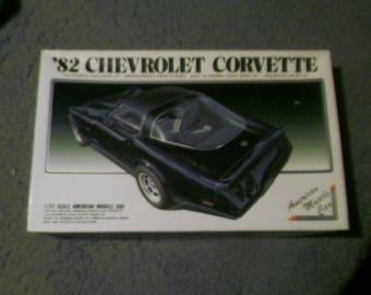 ARII 1982 corvette 1:24 scale model