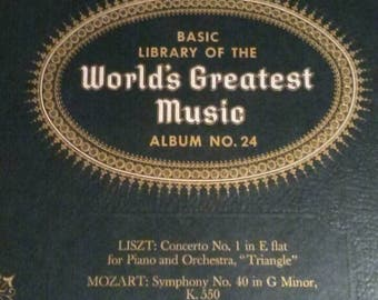 Vintage Classical Masterpieces on Records with FREE