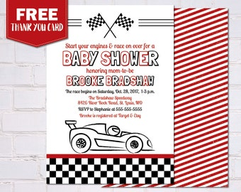 baby shower invitations race car baby shower baby shower invites