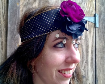 Buttercup and Web 20s Headband