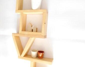 Unique Shelving wooden shelf | etsy