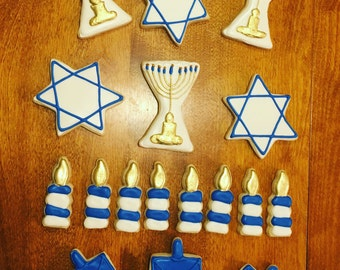 Hanukkah cookie set