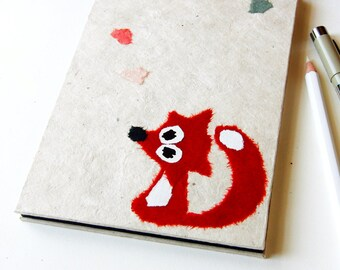 "Accordion Photo Album ""Fox"" natural white"