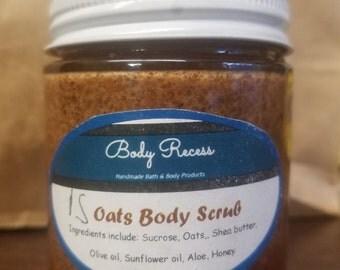 Oats Body Scrub