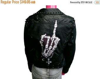 ON SALE Skeleton Finger Jacket