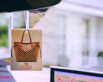 Two Handbag Air Fresheners For Car & Home