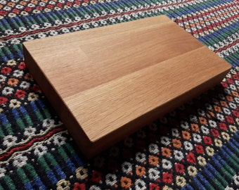 Oak Chopping Board / Wooden Butchers Block / Solid Oak