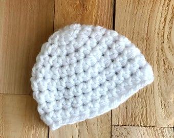 Crochet Baby Hat - Baby Hat, Newborn Baby Hat, Baby Girl Beanie, Baby Boy Beanie, Baby Shower Gift, Baby Gift, Baby Girl Hat, Baby Boy Hat