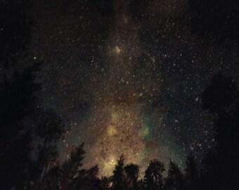 Sky Smoke - Canvas Print