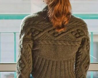 Clearance sale! Knitted shrug. WARM SHRUG with sleeves. Grey Bolero. long sleeves. Warm bolero. Dark grey shrug. Size: petite/ xs-s