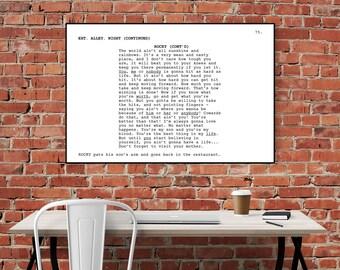 Rocky Balboa - Screenplay Movie Poster