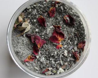 Activated Charcoal Infused Bath Soak