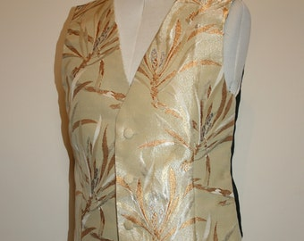 A Gentleman's Silk Vest or Waistcoat