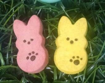 Easter Bunny Peeps Dog Treats * Grain Free Coconut Flour *