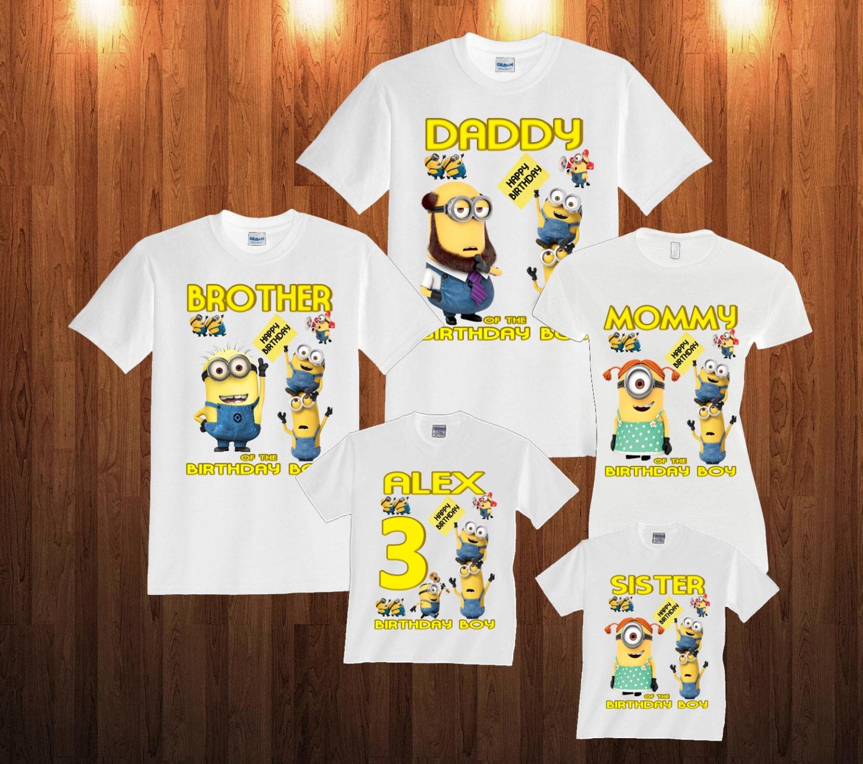 Personalised 1st Birthday Tshirts