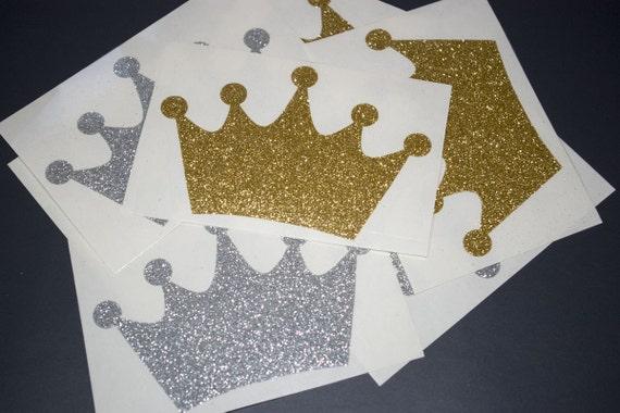 Iron On Glitter Crown Iron On Vinyl Design Diy Heat