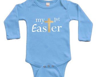 Long Sleeve Bodysuit - My 1st Easter