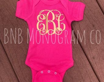 Monogrammed Bodysuit