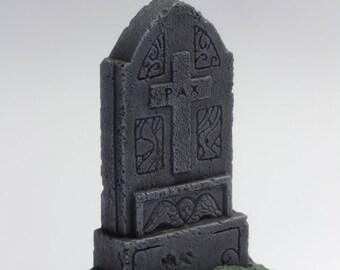 "miniature gravestone, model ""pax"" gravestone"