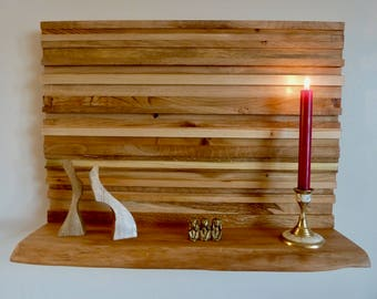 Wood Wall Art Shelf