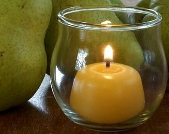 Mini Hilly, Classic - Beeswax Candle