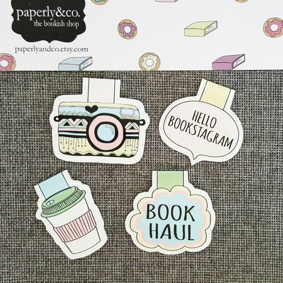 Bookstagram Magnetic Bookmark Set